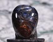 Pietersite Cab 20.8x15x5.7mm Natural Gemstones Cabochons Pietersite Gemstones