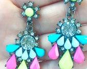 SALE Nightlife Neon Earrings