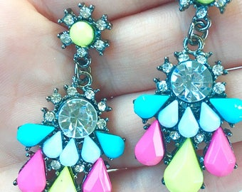 SALE Nightlife Neon Earrings