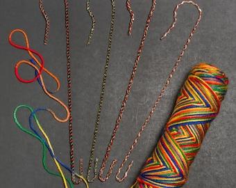 Shepherds Crook Handspinners Yarn Hangers Dozen (choose from 2 sizes!)