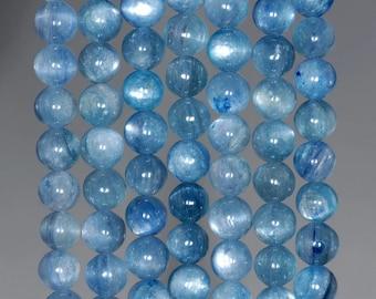 6mm Blue Kyanite Gemstone Grade A Round 6mm Loose Beads 15.5 inch Full Strand (90188736-89)
