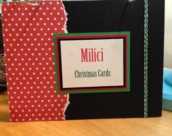 Christmas Cards - Keepsake Book Covers