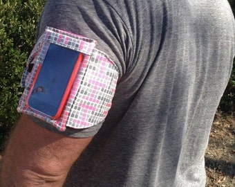 Kota Call Me Cell Phone Pocket Pattern