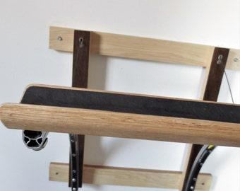 Bicycle Rack , Bicycle Accessories , Reclaimed Wood , Upcycled Bicycle , Bicycle Art , Bicycle Storage