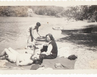 Lake Life Continues summertime living vacation vernacular photography found photos