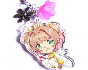 Cardcaptor Sakura clear acrylic charm