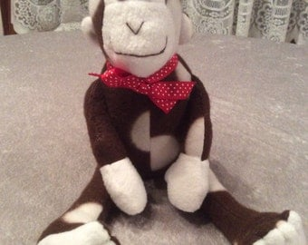 Brown Polka Dotted Monkey
