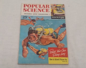 Popular Science July 1953 - Great Condition - Fascinating Articles and Hundreds of Vintage Advertisements
