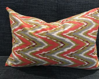 IN STOCK / Orange,Blue, Green Geometric Pillow Covers