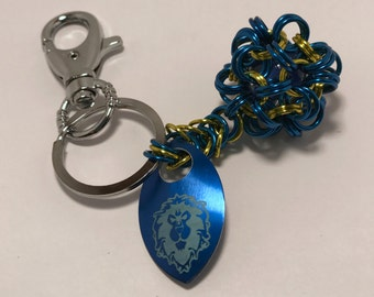 Alliance Inspired Dodecahedron Key Chain