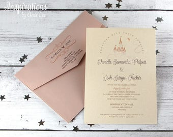 Disney Wedding Invitations, Fairy Tale Wedding