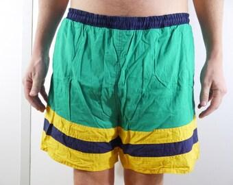 Vintage Swim Trunks/Bathing Suit Large