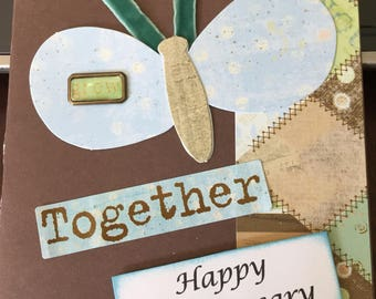 Anniversary Card - Grow Together