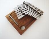 24 Key Medium Mbira Thumb Piano Kalimba - Nhare Tuned Handmade in Zimbabwe! ships from USA.