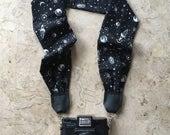 Black Galaxy Scarf Camera Strap