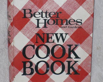 Better Homes & Gardens New Cookbook Ring Binder Vintage 1980