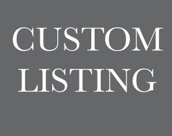 Custom Listing for Eileen- Shipping
