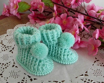 Crochet Baby Booties Pattern - Lucerito Baby crochet Shoes Pattern handmade baby booties Instant Download Baby pattern