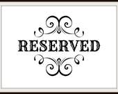 """Reserved for Barbara, Dollhouse Miniature Wallpaper, """"Camille"""", Scale One Inch"""