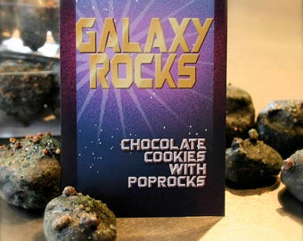 Guardians of the Galaxy inspired Delivered Cookies For Guardians of the Galaxy Vol 2 release party Birthday Sci-Fi Party Favor, Quantity: 12