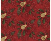 25% Off SALE Pine Fresh in Berry by Sandy Gervais for Moda - One Yard - 17772 12