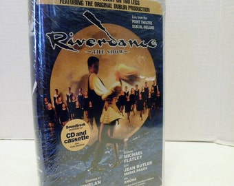 Riverdance The Show VHS VIdeo Tape New Factory Sealed Clamshell