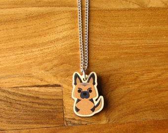 German Shepard Necklace