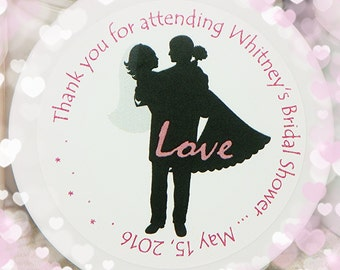 Shower Favor, Unique Shower Favor, Wedding, Bridal Shower, Whipped Body Butter, Affordable Favors, Bridal Silhouette