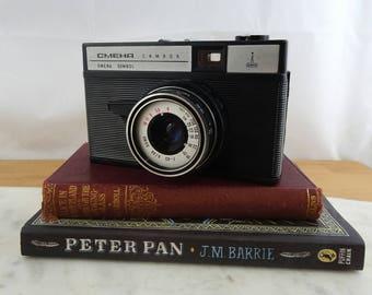 Lomo Cmeha Smena Symbol Camera, Lomography Camera, Vintage Russian Soviet Camera,  35 mm Film Camera