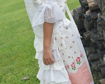 Photo shoot Dress Boho Dress with Pinafore Ellie Ann and Lucy