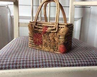 Vintage 1950s basket