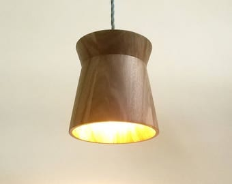 Wood Pendant Lampshade