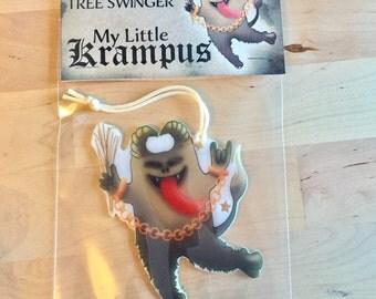 My Little Krampus tree swinger