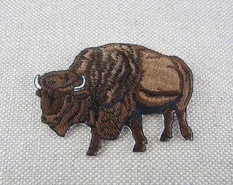 Buffalo Applique Etsy