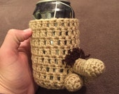Crochet penis can cooler sleeve