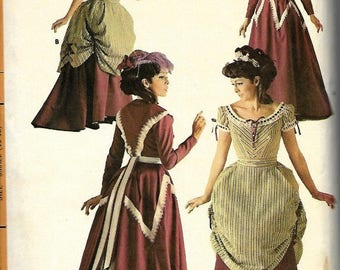 ON SALE 1960's Misses Centennial Costume Pattern, McCall's 8942, Size 10-12