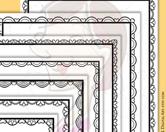 page borders vector jpg png files lace document frames clipart 8x11 award certificate template diploma frame