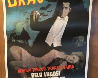 Dracula poster from the 1970's.