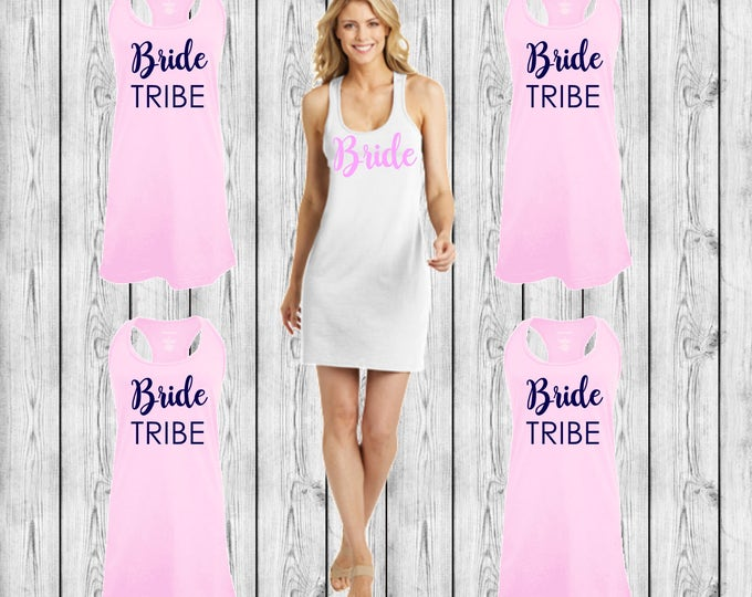 Bridesmaid Swimsuit Coverups, Monogram Swimsuit Coverups, Bridesmaid Gift Sets, Bachelorette Trip, Girls Trip, Custom Swimsuit Coverups