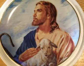 Danbury Mint Collectible Plate - The Good Shepherd