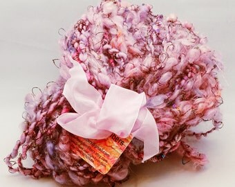 Bulky Art Yarn- Antique Rose