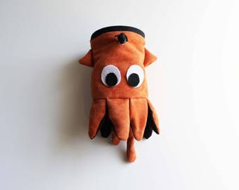 Squid / Cuttlefish - Rock Climbing Chalk Bag