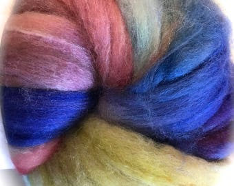 Pixie Dust Roving Top -  4oz, 113g in 2 choices of fiber
