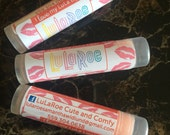LuLaRoe. Lip Balm, 24 tubes,  SALE, Chapstick, personalzed, labels, Consultant, Gifts, marketing, business cards