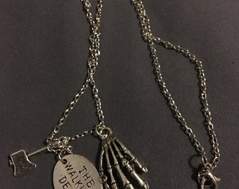 The Walking Dead Inspired Necklace