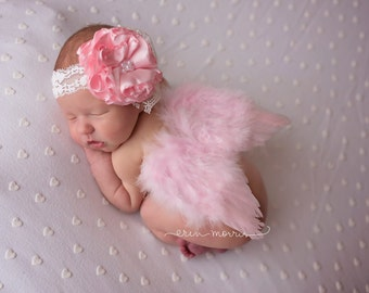 Newborn photo prop. Baby photo prop, Newborn wings, Newborn baby wings, feather wings, feather baby wings, baby angel wings, baby wing set