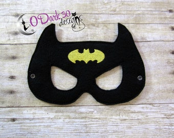 Batman Inspired Childrens Dress Up Mask