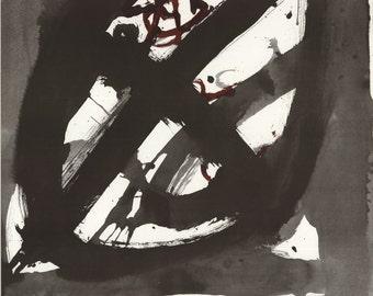 Antoni Tapies-Papiers-1981 Poster