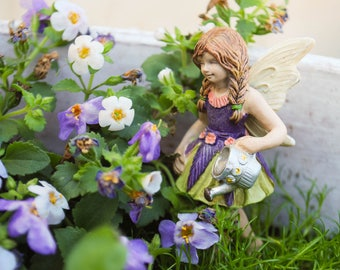 Fairy for Miniature Garden, Flower Fairy, Faerie, Miniatures