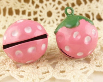 Pink Strawberry Jingle Bells Metal (2)
